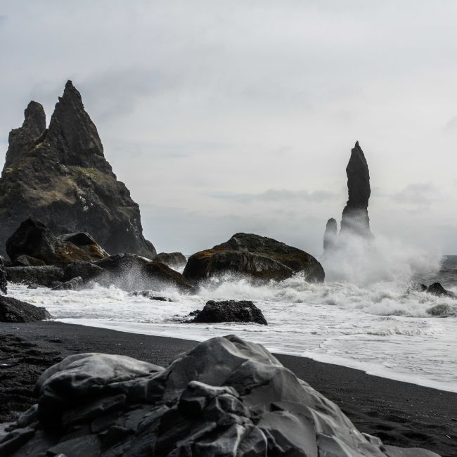 Mike Carroll | Reynisfjara Rock Stacks