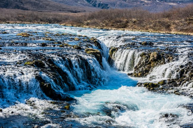 Mike Carroll | The Blue Waters of Bruarfoss