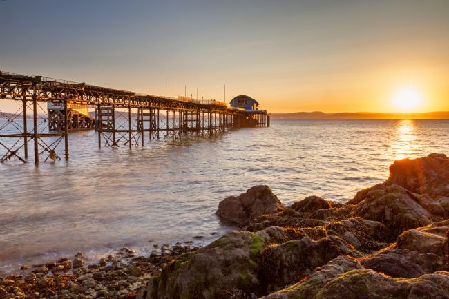 Dan Santillo | Sunrise at Mumbles Pier