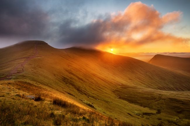 Dan Santillo | Corn Du, Pen y Fan and Cribyn, Brecon Beacons National Park