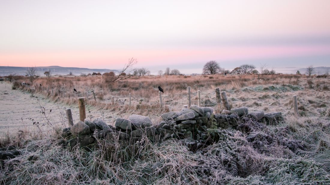 Mark Stinchon | Frosty Countryside Landscape