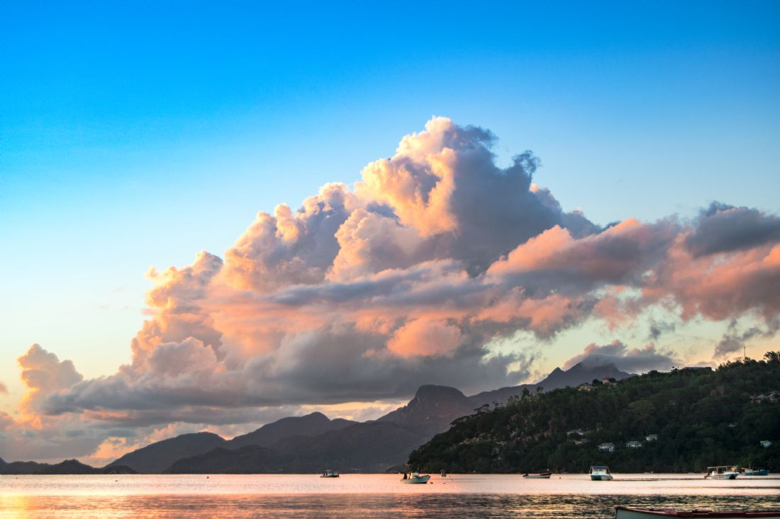 Mark Stinchon | Tropical Sunset Clouds Seychelles