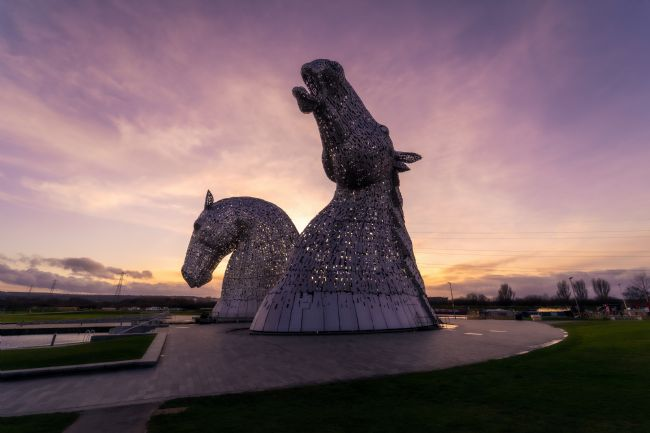 Mark Stinchon | Kelpies Scotland Landscape