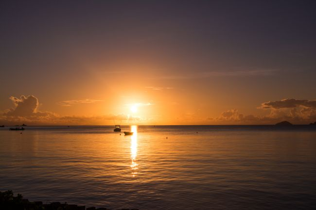 Mark Stinchon | Seychelles Tropical Sunset