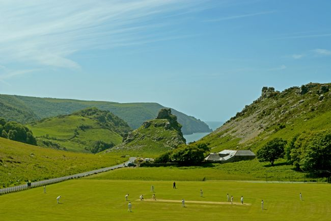 Graham Carnduff-Youngg | The Last Over Before Tea - Cricket at The Valley of Rocks