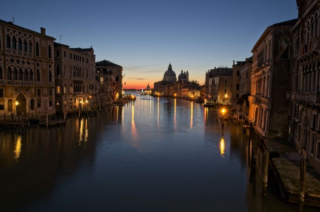 Simon Rigby | View From Accademia Bridge