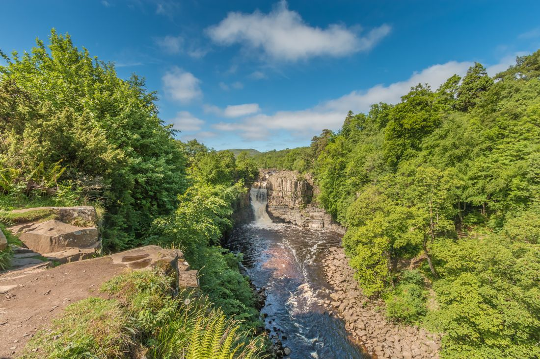 Richard Laidler | Summer at High Force Waterfall, Teesdale