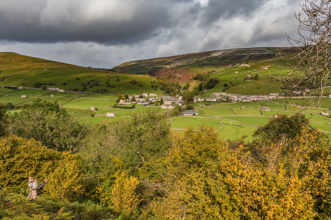 Richard Laidler | Autumn at Gunnerside, Swaledale, Yorkshire Dales