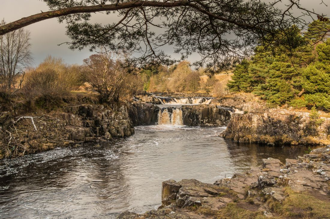Richard Laidler | Winter sunlight on Low Force Waterfall, Teesdale (1)