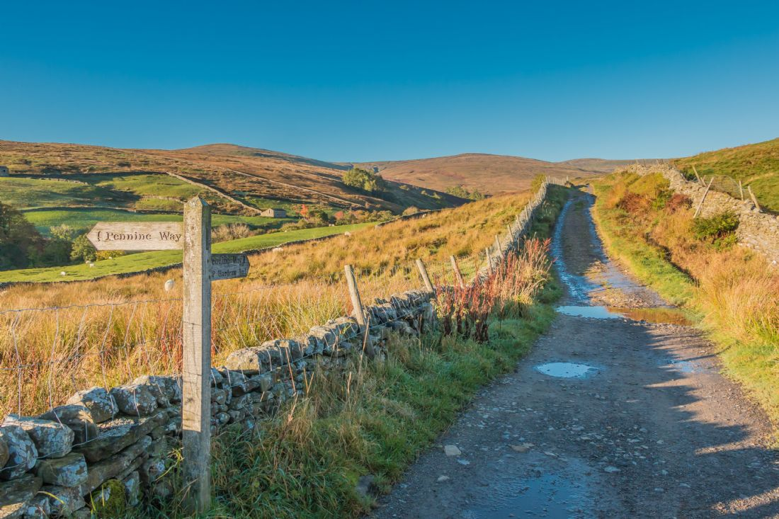Richard Laidler | The Pennine Way to Great Shunner Fell, Yorkshire Dales