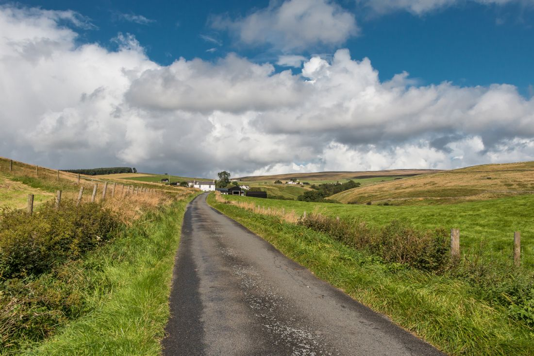 Richard Laidler | Up into Ettersgill, Teesdale, under a Big Sky