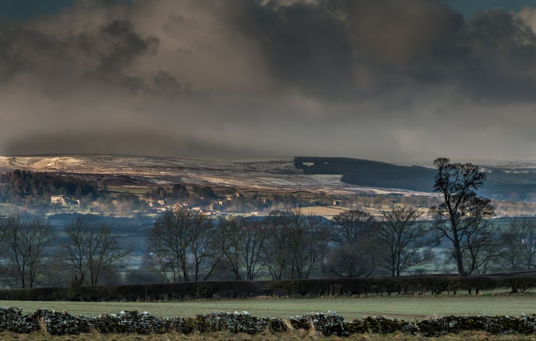 Richard Laidler | Wintry Bright Interval at Barningham