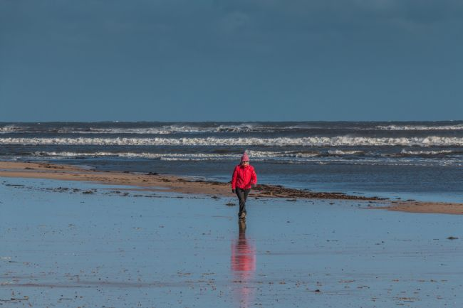 Richard Laidler | A Bracing Beach Walk