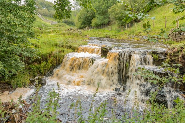 Richard Laidler | Swollen Ettersgill Beck Waterfall