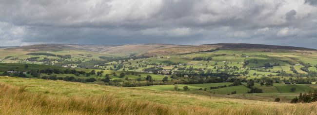 Richard Laidler | Middleton in Teesdale from the Kelton Road Panorama