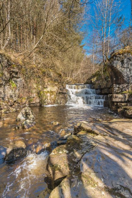 Richard Laidler | Waterfall on Bowlees Beck, Upper Teesdale, in early spring