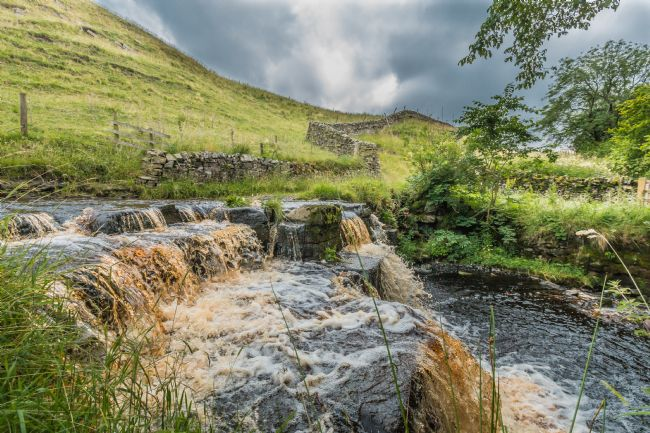 Richard Laidler | Ettersgill Beck Waterfall in Spate