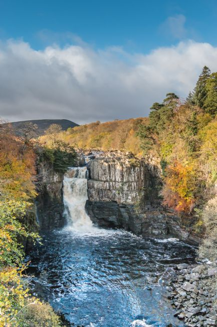 Richard Laidler | Autumn Colours at High Force Waterfall, Teesdale