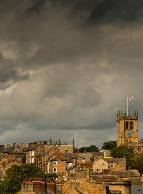 Richard Laidler | Stormy Sky over Barnard Castle