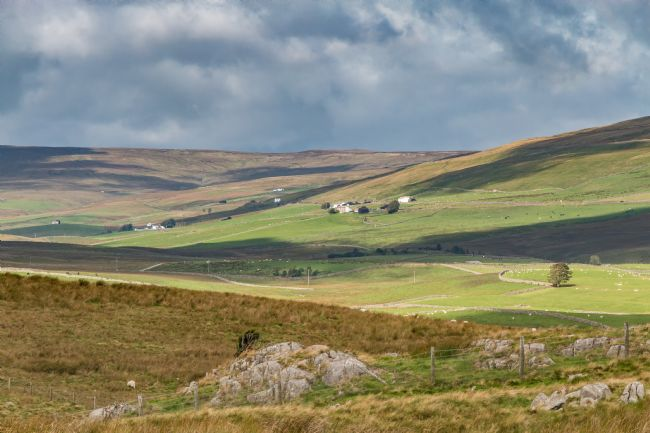 Richard Laidler | Harwood, Teesdale from the Pennine Way at Cronkley