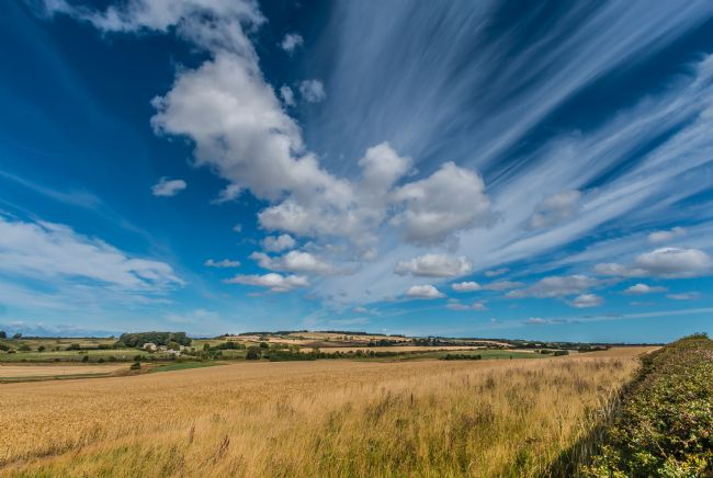 Richard Laidler | Big Sky over Lesbury, Northumberland