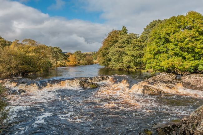 Richard Laidler | Cascade on the River Tees between High Force and Low Force Waterfalls in October