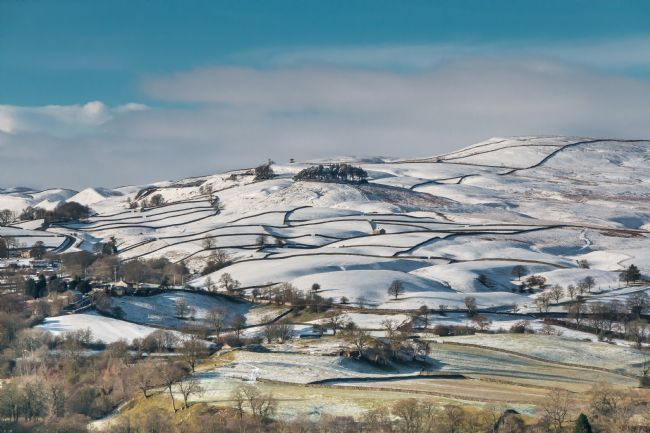 Richard Laidler | Kircarrion from Whistle Crag, Upper Teesdale, in Winter