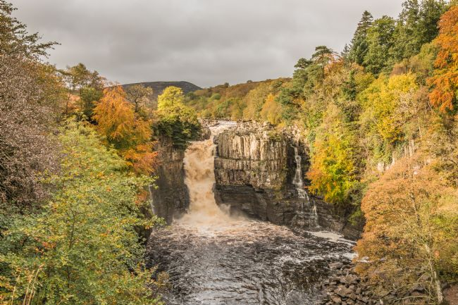 Richard Laidler | Autumn at High Force Waterfall, Teesdale