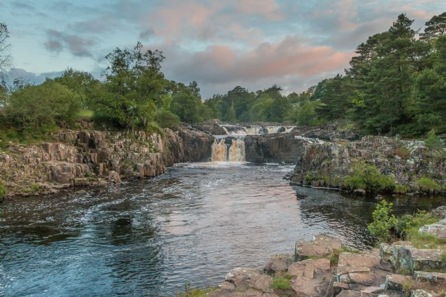 Richard Laidler | Early Morning at Low Force Waterfall, Teesdale, on the Summer Solstice 2019