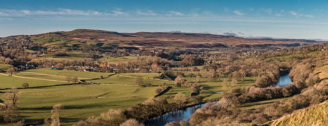 Richard Laidler | Teesdale from Whistle Crag, Autumn Panorama