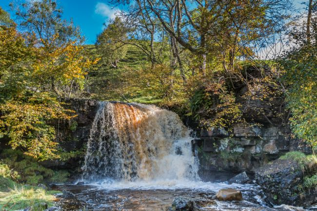 Richard Laidler | East Gill Force, Keld, Swaledale in Spate