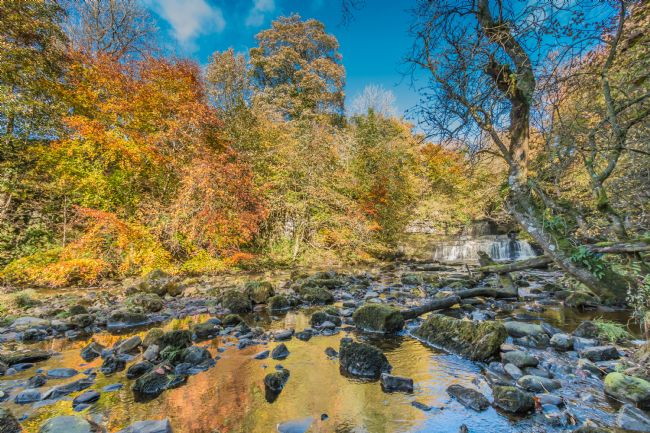Richard Laidler | Autumn at Cotter Force Waterfall
