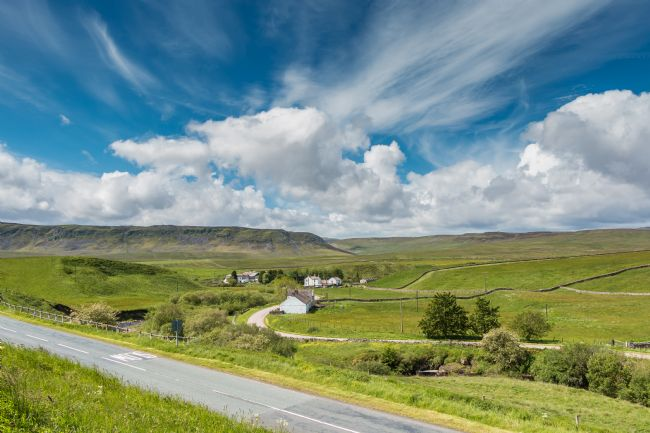 Richard Laidler | Big Sky over Langdon Beck, Upper Teesdale