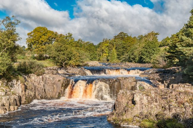 Richard Laidler | Autumn Tints at Low Force Waterfall, Teesdale