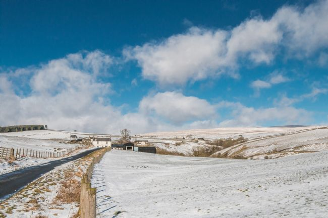 Richard Laidler | Ettersgill, Upper Teesdale in Winter