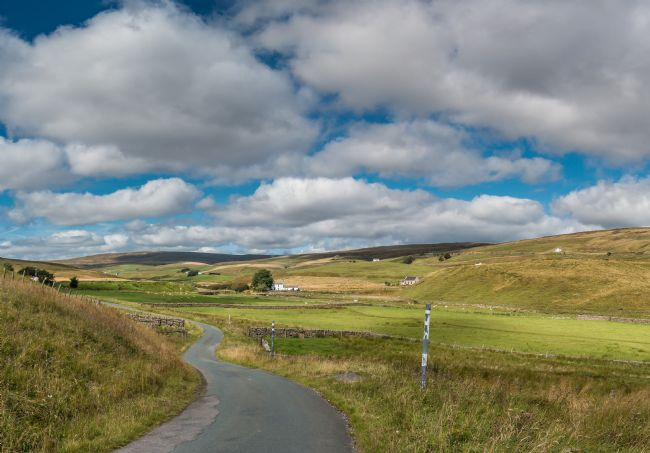 Richard Laidler | Harwood, Upper Teesdale in Early Autumn Sunshine
