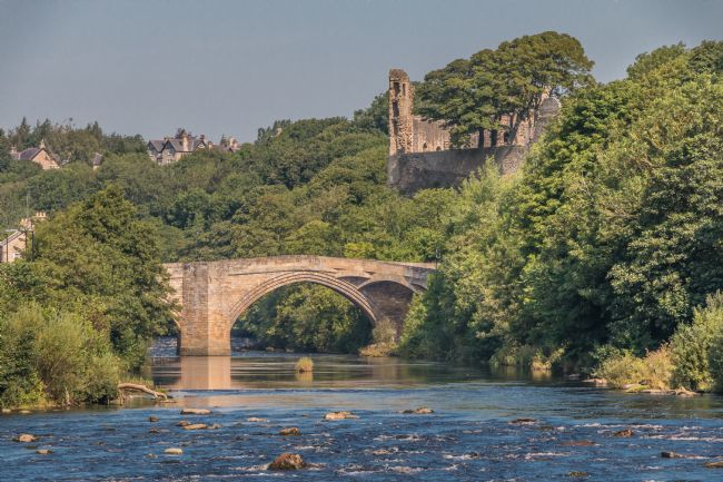 Richard Laidler | County Bridge and the Castle, Barnard Castle, Teesdale