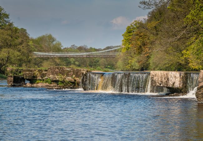 Richard Laidler | Whorlton Bridge and River Tees Cascade
