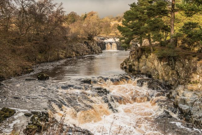 Richard Laidler | Winter Sunlight on Low Force Waterfall, Teesdale (2)