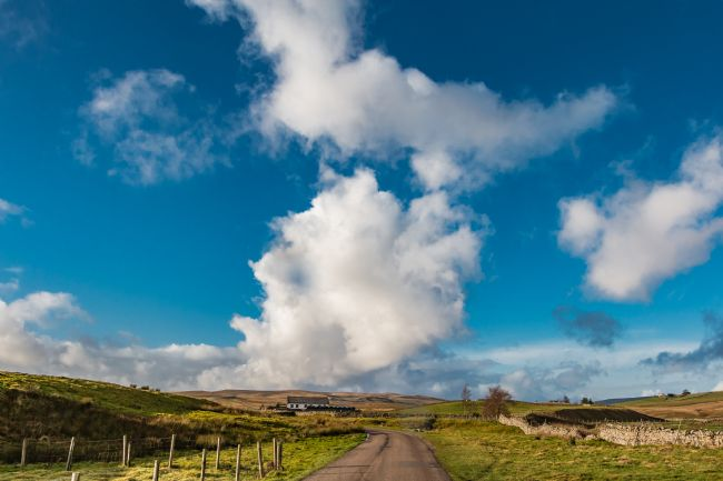 Richard Laidler | Big Sky over Widdybank, Teesdale