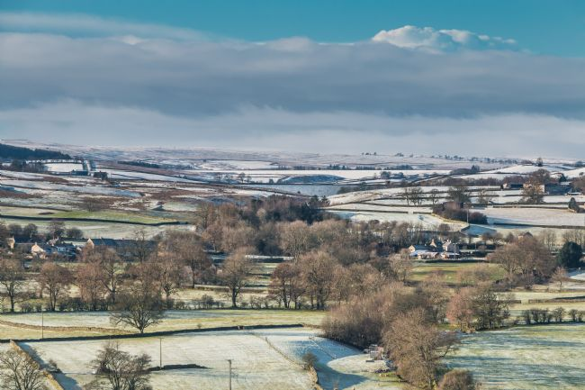 Richard Laidler | Teesdale and Lunedale from Whistle Crag in Winter