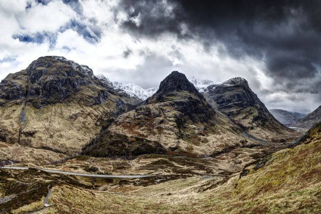 Phill Thronton | The Three Sisters of Glencoe no.2