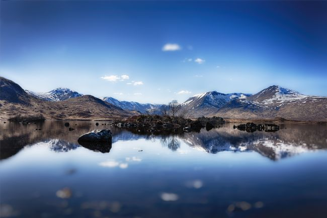 Phill Thornton | Blue Rannoch Moor