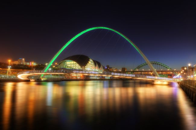 Phill Thornton | Gateshead Millennium Bridge No.2