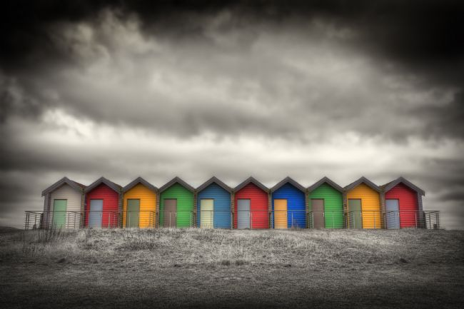 Phill Thornton | Blyth Beach Huts No. 3