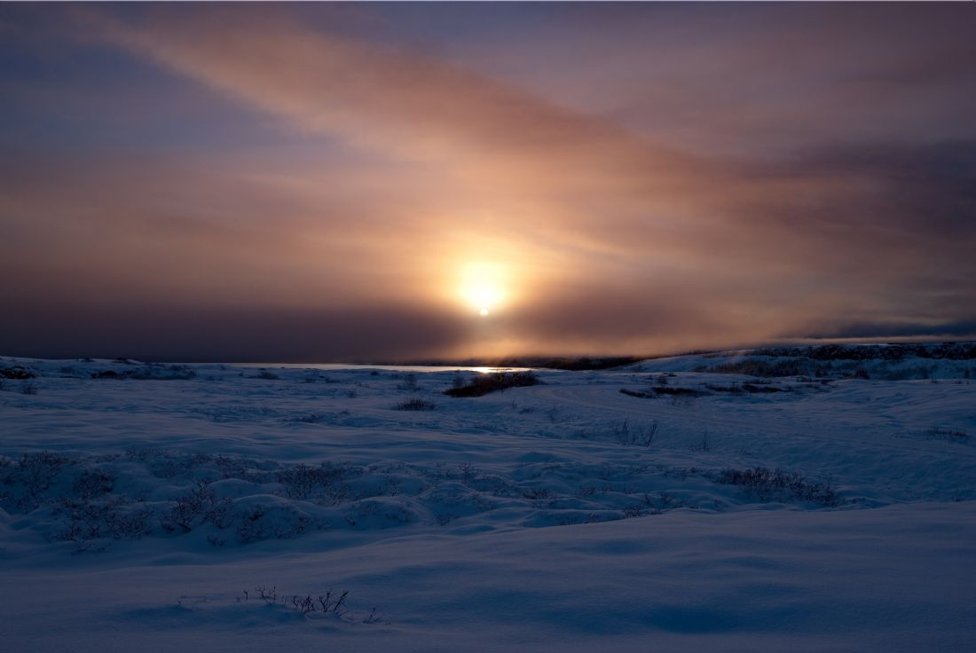 Tom Dolezal | Winter sun in Iceland