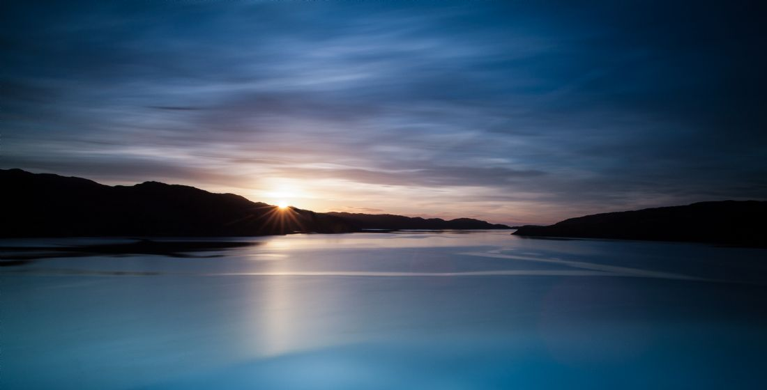 Tom Dolezal | Sunset at Loch Cairnbawn