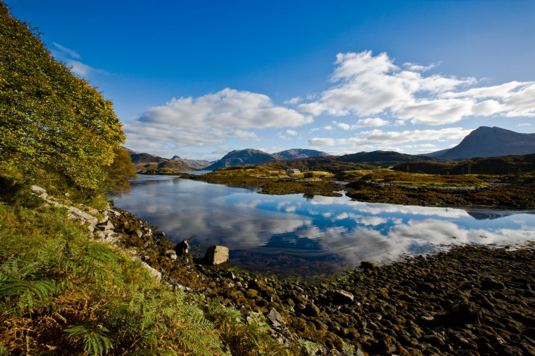 Tom Dolezal |  Loch Glendhu reflections