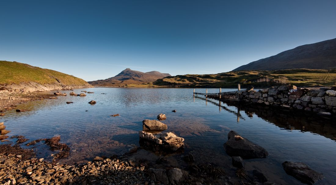 Tom Dolezal | Loch Assynt view of Quinag
