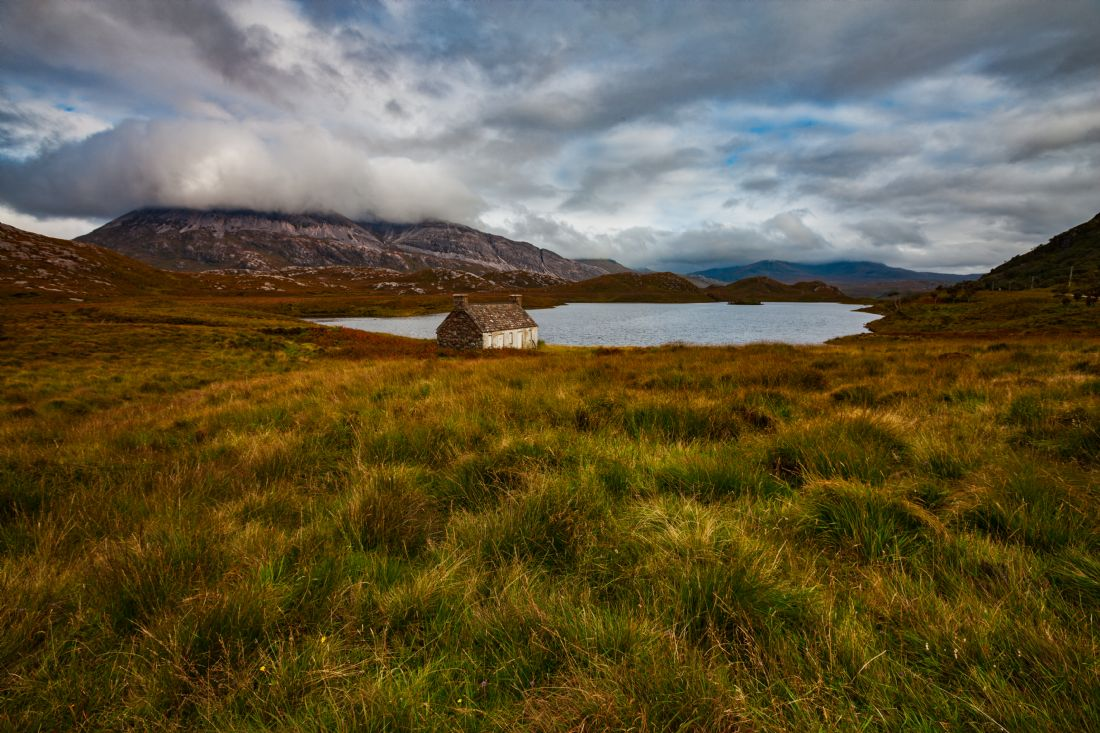Tom Dolezal | Boathouse at Loch Stack